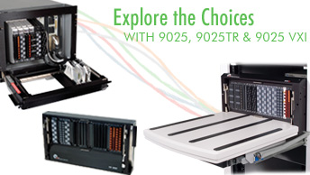9025, 9025TR & 9025 VXI - Medium I/O Solutions