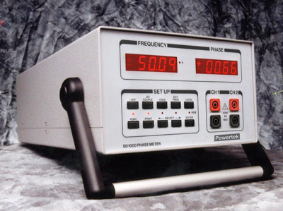 Powertek SD1000 Phase Meter